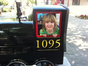 Child smiling in Kingston