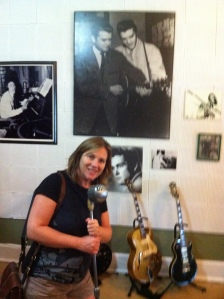 Blog author in Sun Studio