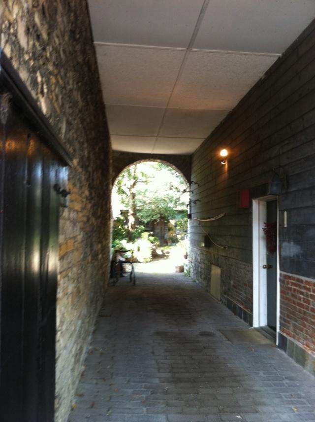 Limestone carriageway