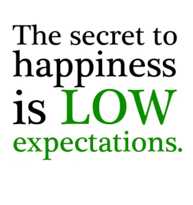 Sign secret to happiness