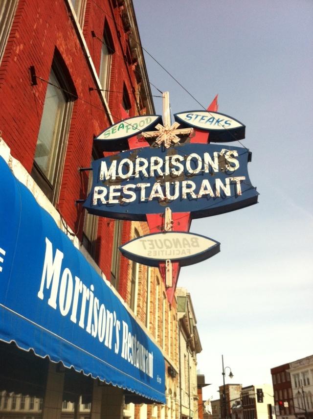 Morrison's Sign