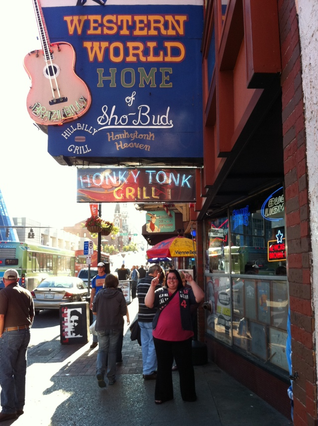 honky tonk sign