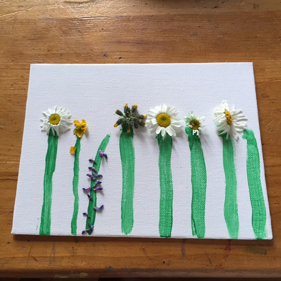 young girls art