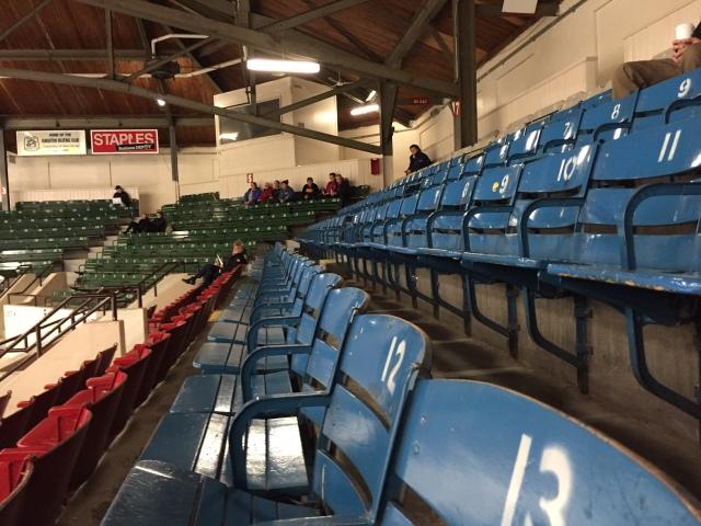empty hockey stadium