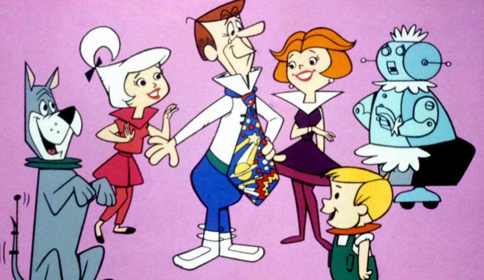 Jetsons comic of the family of the future
