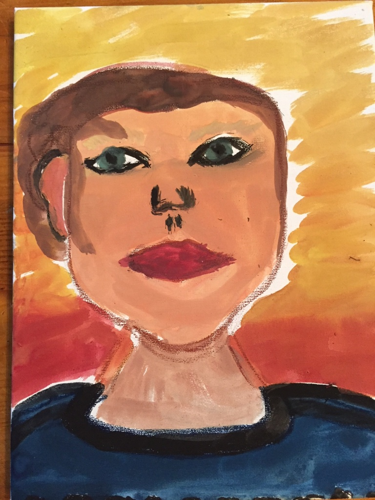 Painting of me