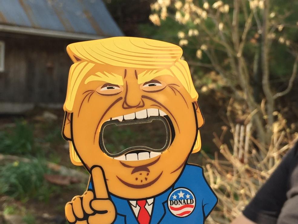 Donald Trump bottle opener