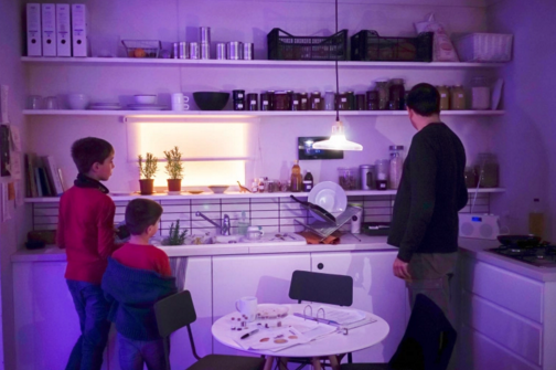 Museum exhibit of the apartment of the future