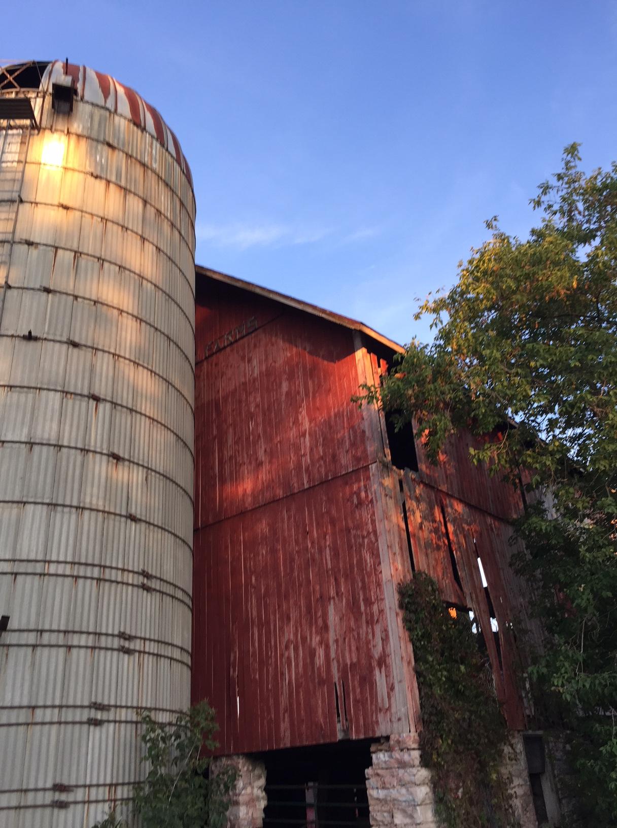 barn silo