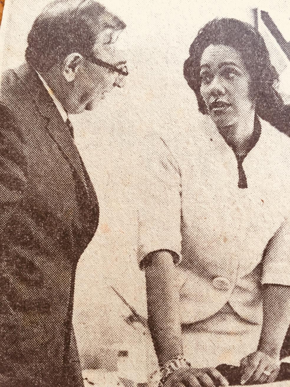Coretta Scott King at Toronto City Hall