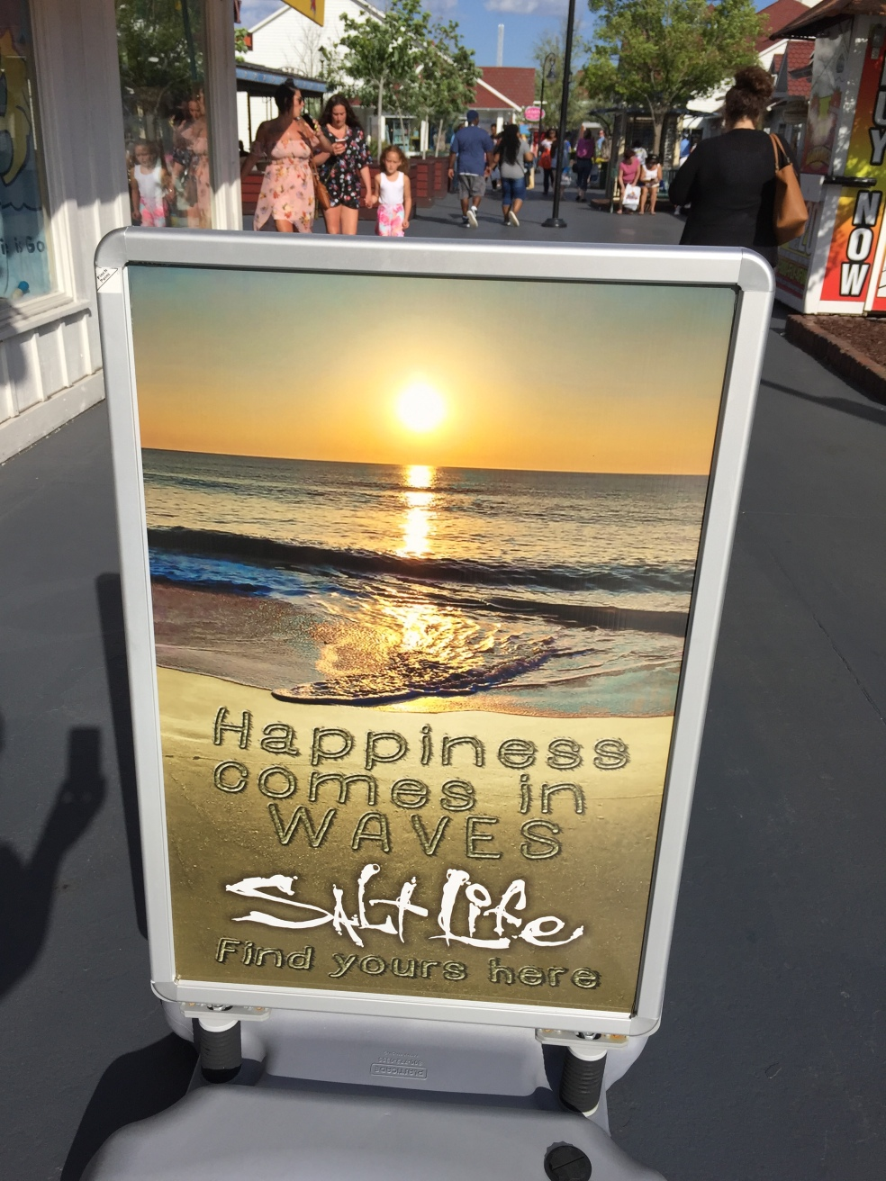 Sign about happiness