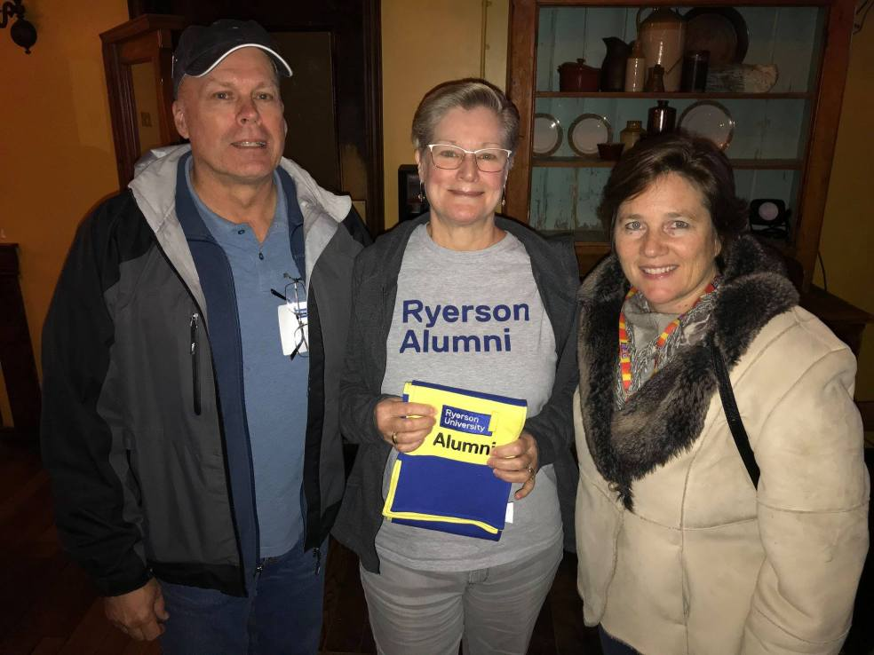 Ryerson alumni at trivia night