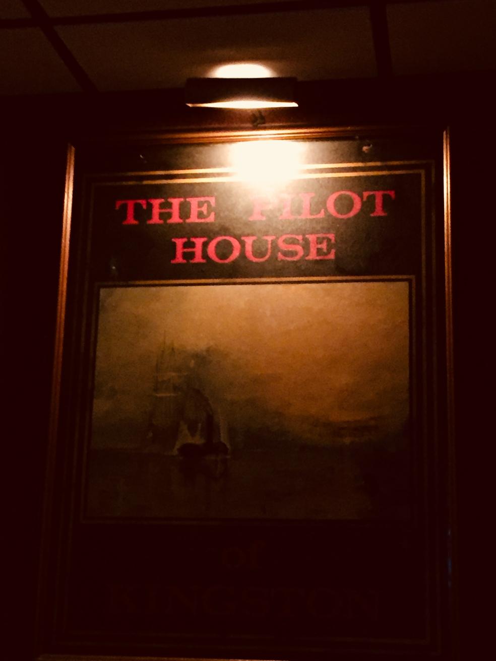 Pilot House sign