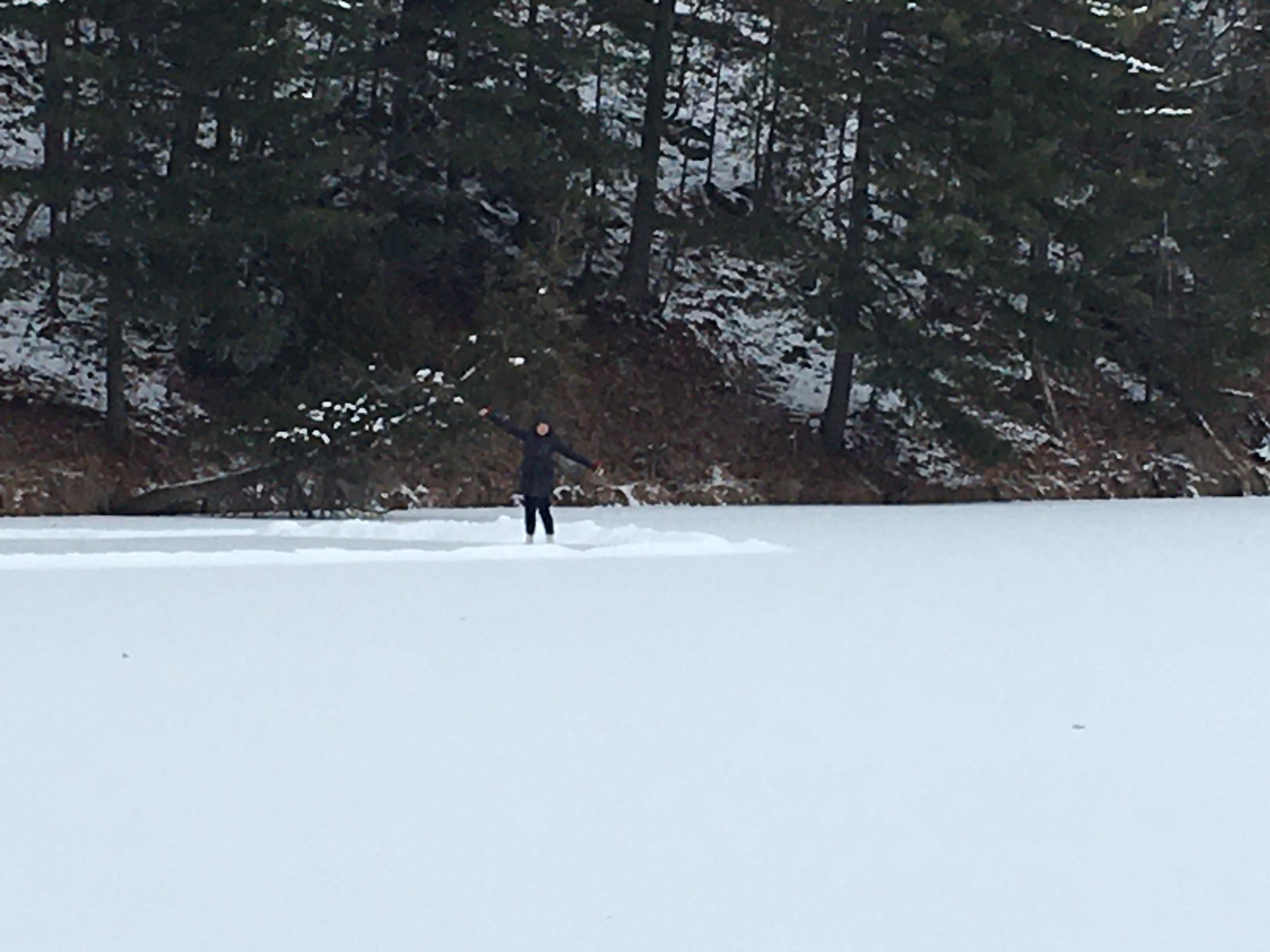 author on lake