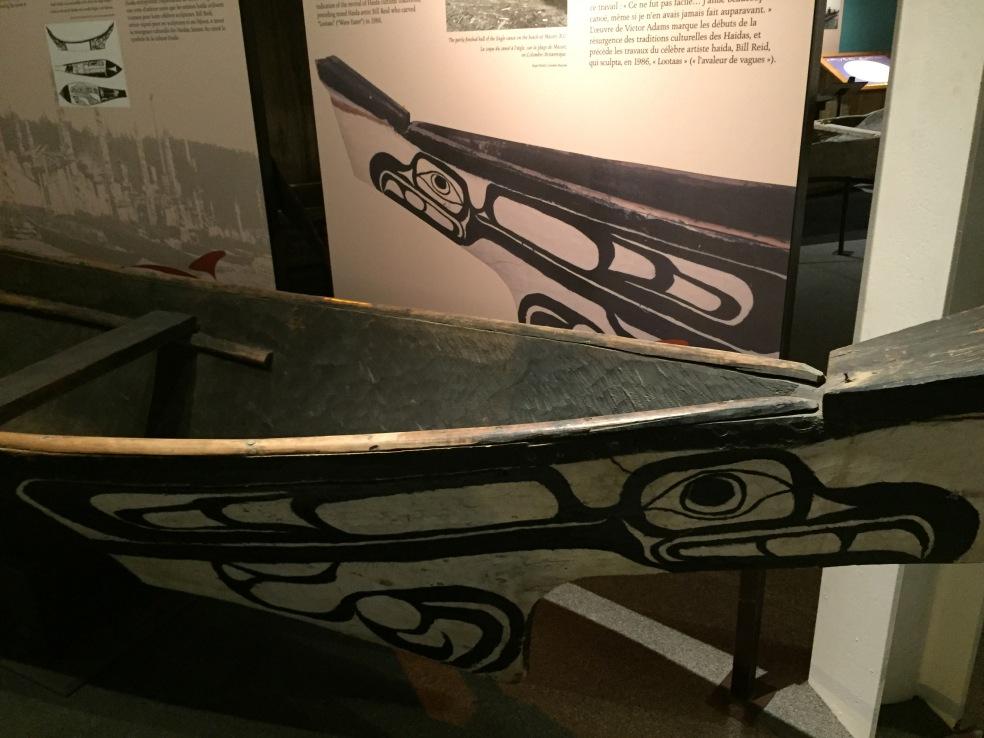 Haida Gwaii canoes