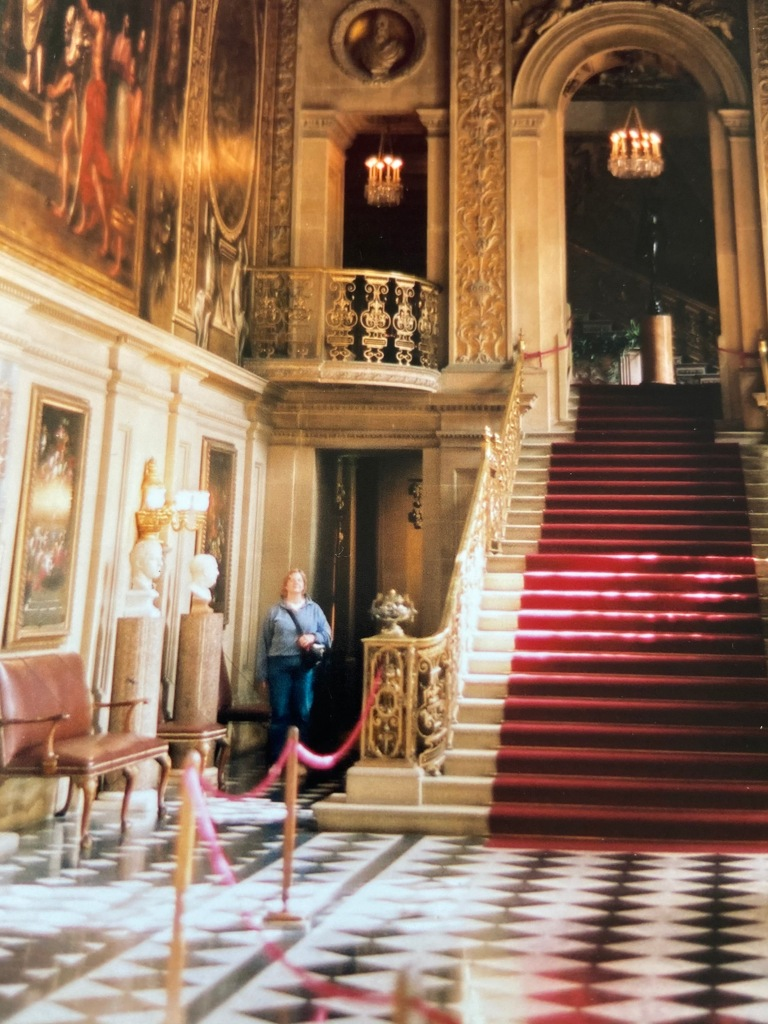 Entry at Chatsworth Hall