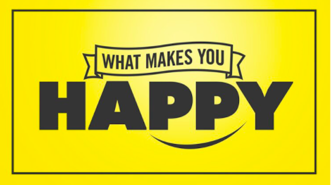 Sign what makes you happy